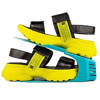 Подвійна стійка підставка для зберігання взуття, колір синій 560118
